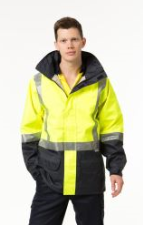Anti Static Wet Weather Safety Jacket